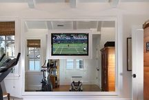 Home Gym | Work It Here / by Christi Barbour | Interior Designer