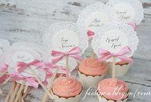 Muffiny na ślub z winietką / Wyjątkowe podziękowania dla gości  razem z winietką