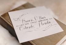 Fancy fonts•calligraphy•artsy envelopes