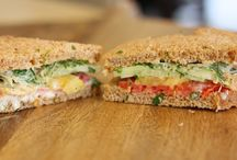 Food- Sandwiches / Yummy, healthy sandwiches.