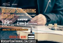 Contests of Worship Team Training / Contests on #WorshipTeamTraining Featuring: #Songwriting #Song #Book Giveaways #Worship #Training Events and more!  Go To: http://www.worshipteamtraining.com/contest