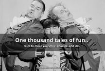 1000 Comedy Tales / One thousand tales of fun..  Tales to make you smile, chuckle, and LOL