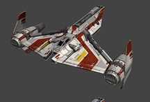 Spacecraft - Fighters & Gunships
