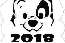 2018 символ года Собака