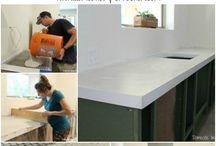 flooring & counter tops
