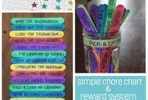 Chores & Rewards  ideas! ☺
