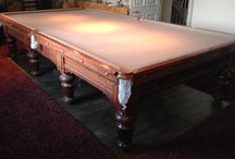 Antique Full Size Snooker Tables