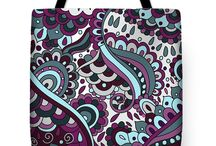 Tote Bags by SB Decorative Designs