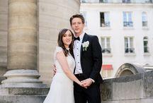 Elegant Parisian wedding, soooo French