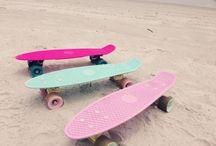 let's roll / roller skates, boards