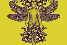 Galerie des monstres / Travail autour du corps et de la nature
