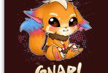 draw fox