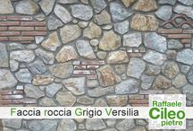 Faccia roccia grigio versilia / materiale particolarmente indicato per rivestire muri, muretti, ville ed edilizia pubblica e privata