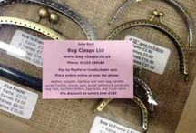 Haberdashery & sewing accessories / Everything from buttons and zips to bag clasps and fasteners!