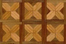 Miniatures - wood, marble, bricks