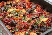 Griekse groenten oven schotel