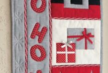 mini quilt wallhanging