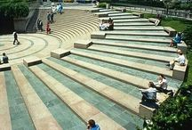 public architecture stairs