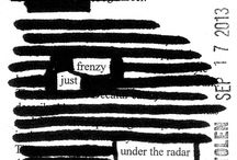 STOLEN series (blackout poems) / by Jodi Hersh — Orange Star Design