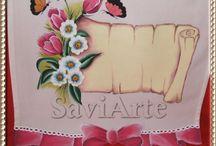 Pintura em tecido / Em peças para bébés, crianças ou casa