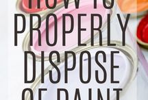 Dispose of Paint