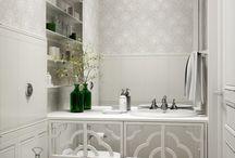 Bathrooms Powder rooms