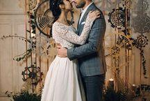 La mariée aux mains d'argent - Shooting mariage - Inspiration industrielle - MC2 Mon Amour