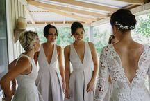 Modern Contemporary Bridesmaids Dresses