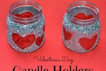 upcycled baby food jars / by Pam Williams