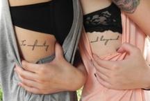 Tattoos! / by Hannah Lanser