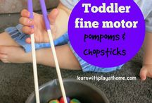 Activities for Toddlers / All kinds of fun activities that toddlers can do! / by Tina @ Simple Fun for Kids