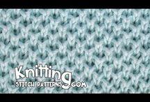 Pletenie - vzorky