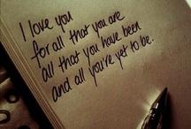 love. / by Ashley P