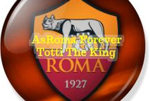 AsRoma Forever Totti The King