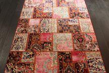 Dywany Patchwork z kolekcji Sarmatii / Patchwork rugs from Sarmatia