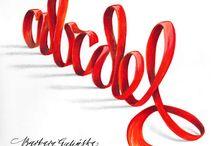 Calligraphy 3d