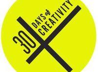 30 Days of Creativity / 30 Days of Creativity in the month of June 2012. http://30daysofcreativity.com #30DOC