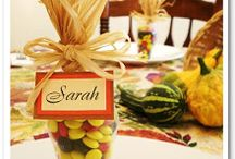 Thanksgiving DIY & Decor  / Decorations and DIY for Thanksgiving / by Amy Green