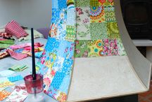 Patchwork lampshades