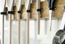 organização utensílios de cozinha