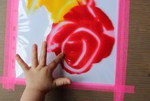 Activités peinture