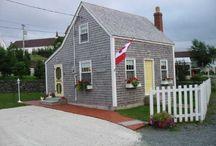 Saltbox houses