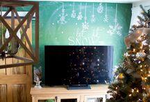 Winter DIY & Recipe Inspiration / Ideas and inspiration to decorate our home through the Winter season.    #homedecor #DIY #home #interiordesign #decor #rustic #farmhouse #fixerupper #winter #recipe #cozy