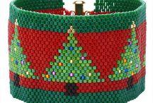 Christmas beading