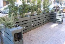pallets fence