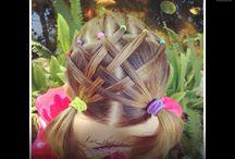 coiffures fillettes