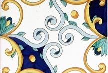Decorazione stile ottocento