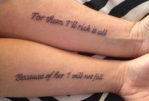 Tattoos / Travel tattoos, wedding tattoos