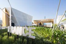 Padiglione Francia - Expo 2015 / ancoraggi strutturali con Mapefill