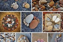 how to make cute foot decor stones